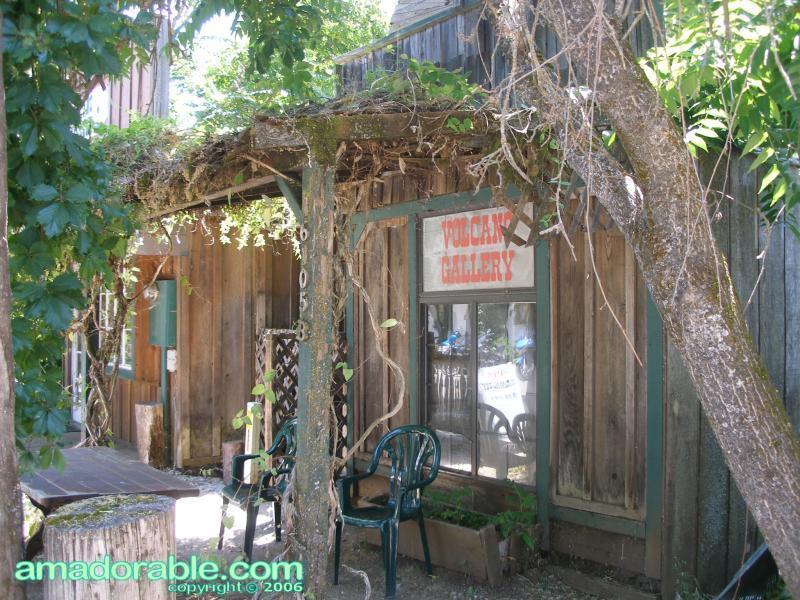 Main Street, Volcano - Volcano Gallery Front
